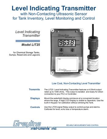 Greyline LIT25 Waste Water Solution
